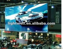 light weight thin cabinet full color smd indoor shopping center led billboard