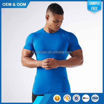 Wholesale Custom Blank Luxurious Comfortable Quality Primacy Mens Gym T Shirt