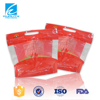 OEM resealable zip customized chicken plastic bags