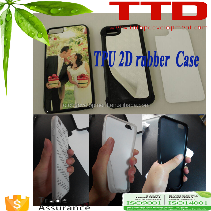 Sublimation phone cover tpu case for iphon 7s, printable phone cover
