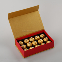 Factory lower price custom chocolate boxes packaging (QY160332)