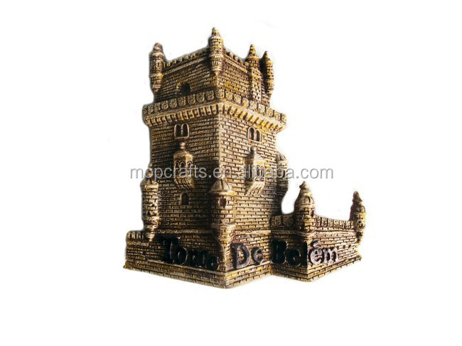 polyresin souvenirs resin tower building