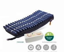 22cm Nylon tpu cell alternating air mattress medical anti-decubitus inflatable mattress with pump