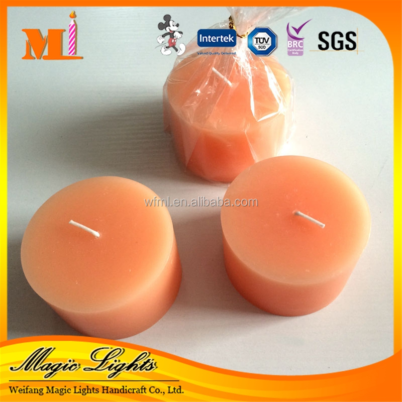 Direct Selling Various Model Double Layer Smokeless Round Ball Candles
