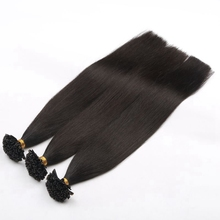 Super Quality virgin hair 100% cuticle remy u tip prebonded hair nail tipped human keratin hair extension