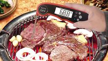 Best quality Digital meat food grill thermometer bbq instant read