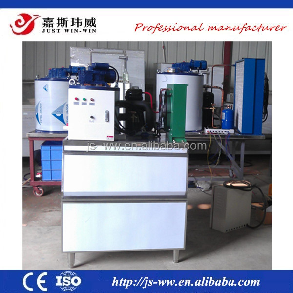 500kg flake ice machine sell in Vietnam for fish and seafood company