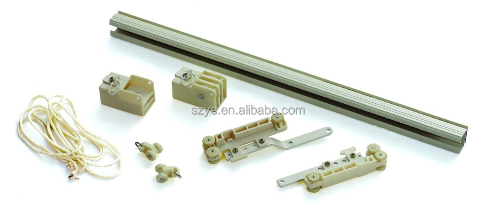 Curtain Rod Double Track And Pulley, Curtain Rod Double Track And ...