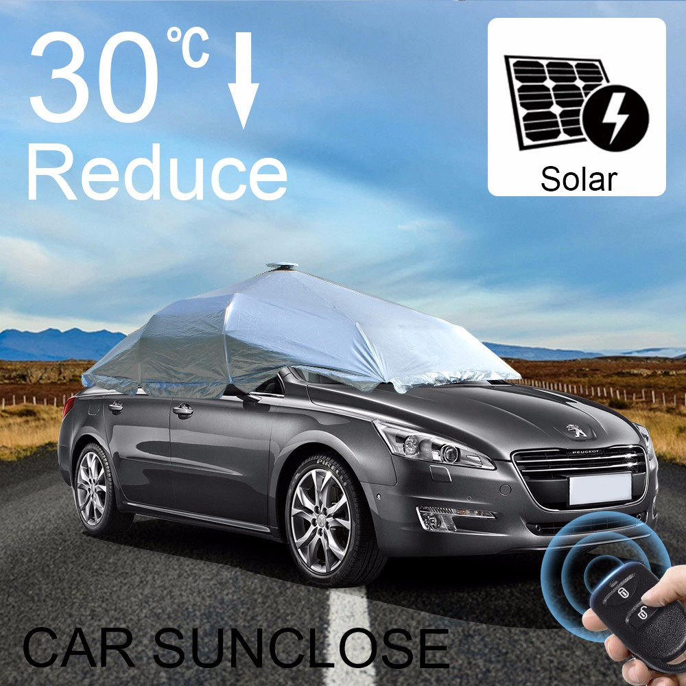 SUNCLOSE Factory direct wholesale chinese sun visor solar mobile charger cover