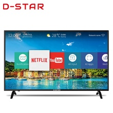 32 55 65 70 75 inch lcd led flat curved metal frame tv 4k uhd smart
