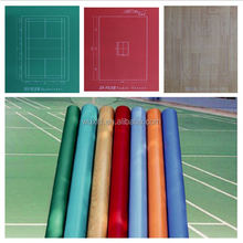low cost non-slip 8mm professional pvc basketball sports flooring with CE/ISO