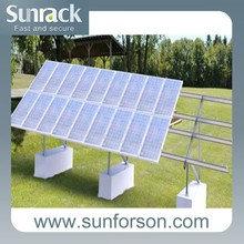 aluminum stands for solar panel