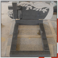 G654 Chinese Granite Funeral Monument