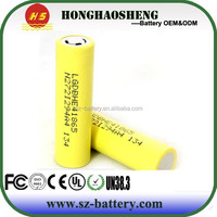 Authentic HE4 HE2 lg inr 18650 lg imr 18650 cell 2500mah 3.7v 35a for electronic cigarette