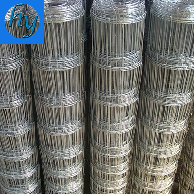 Long Life Hot Dip Galvanized Fixed Knot Woven Wire Fence
