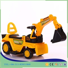 2016 new arrival kids sand digging machine ride on toy sand digging factory wholesale kids excavator toy