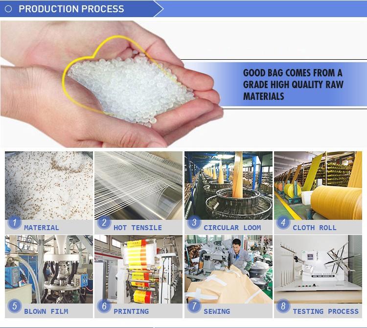 Econômico de malha de polipropileno sacos de arroz