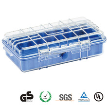 "New arrival GD1060 10"" electronic plastic case small waterproof boxe storage external hard drive case"