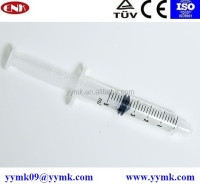 Disposable hospital equipment sterile syringe injection product