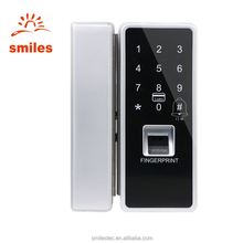 Wholesale Commercial Biometric Fingerprint Lock For Glass Door Support Time Attendance