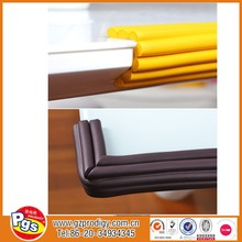 Qualify European Stander Baby Safe Edge Protector/2017 Plastic Table Edging Trim for table