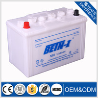12v80ah Dry Charged Automotive Car Battery