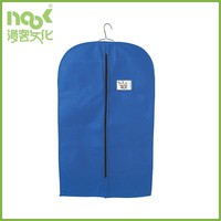 Hot Sale top quality pp foldable non woven garment bag for suit cover