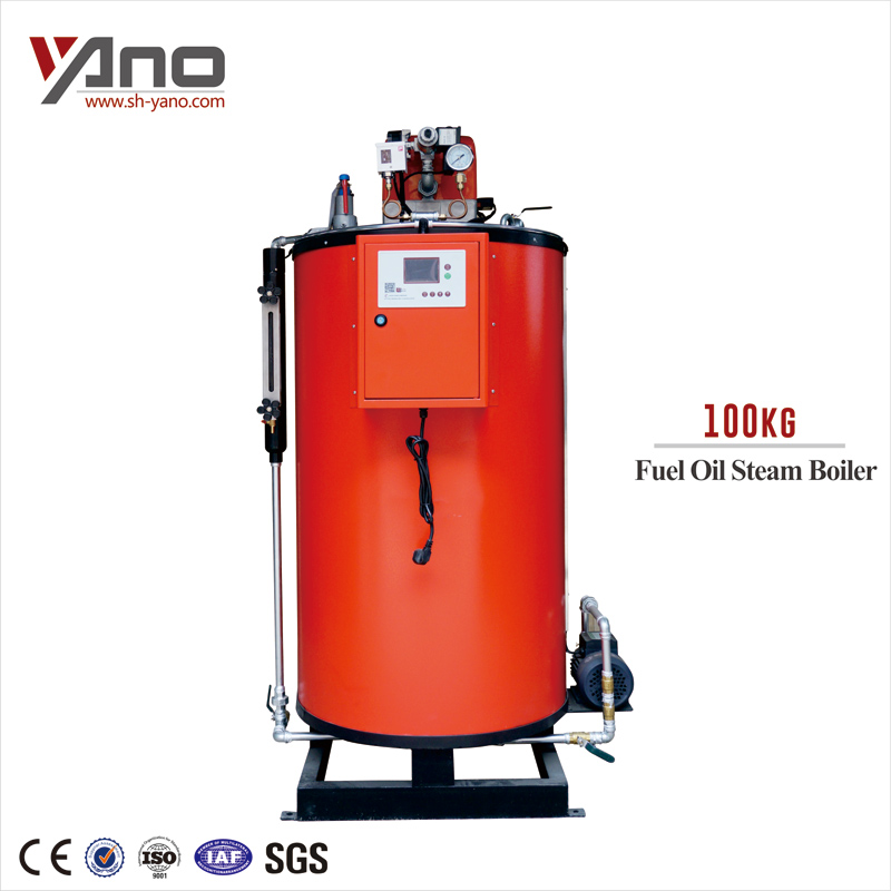 For Breweries Food Industry 100kg Oil Fired Steam Generator Diesel