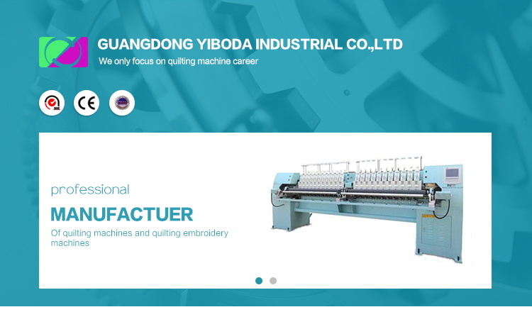 Ybd424 high-speed four-color quilting embroidery machine professional quilting embroidery computer machine