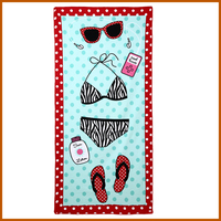Customized Available Personalized Beach Towel Printed