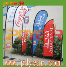 Swooper flag Teardrop banner Beach Flag for advertising