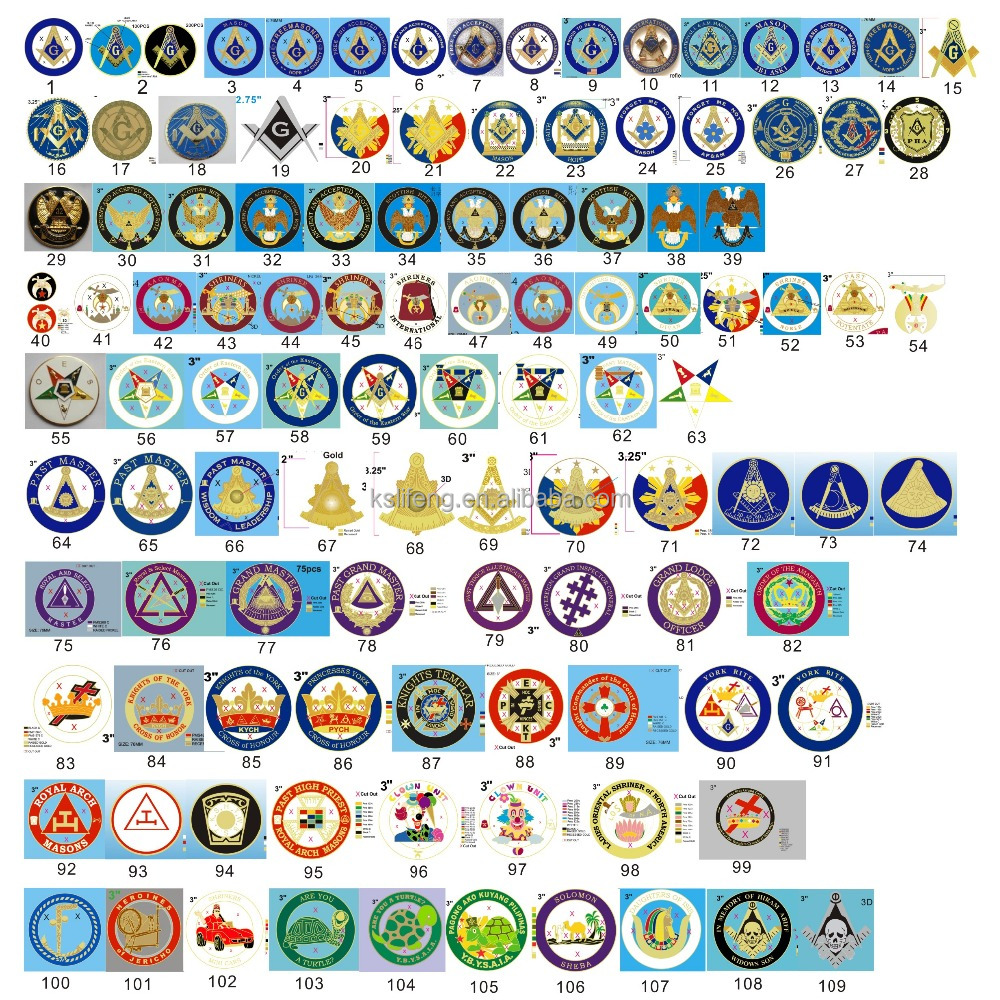 wholesale masonic items masonic car emblem
