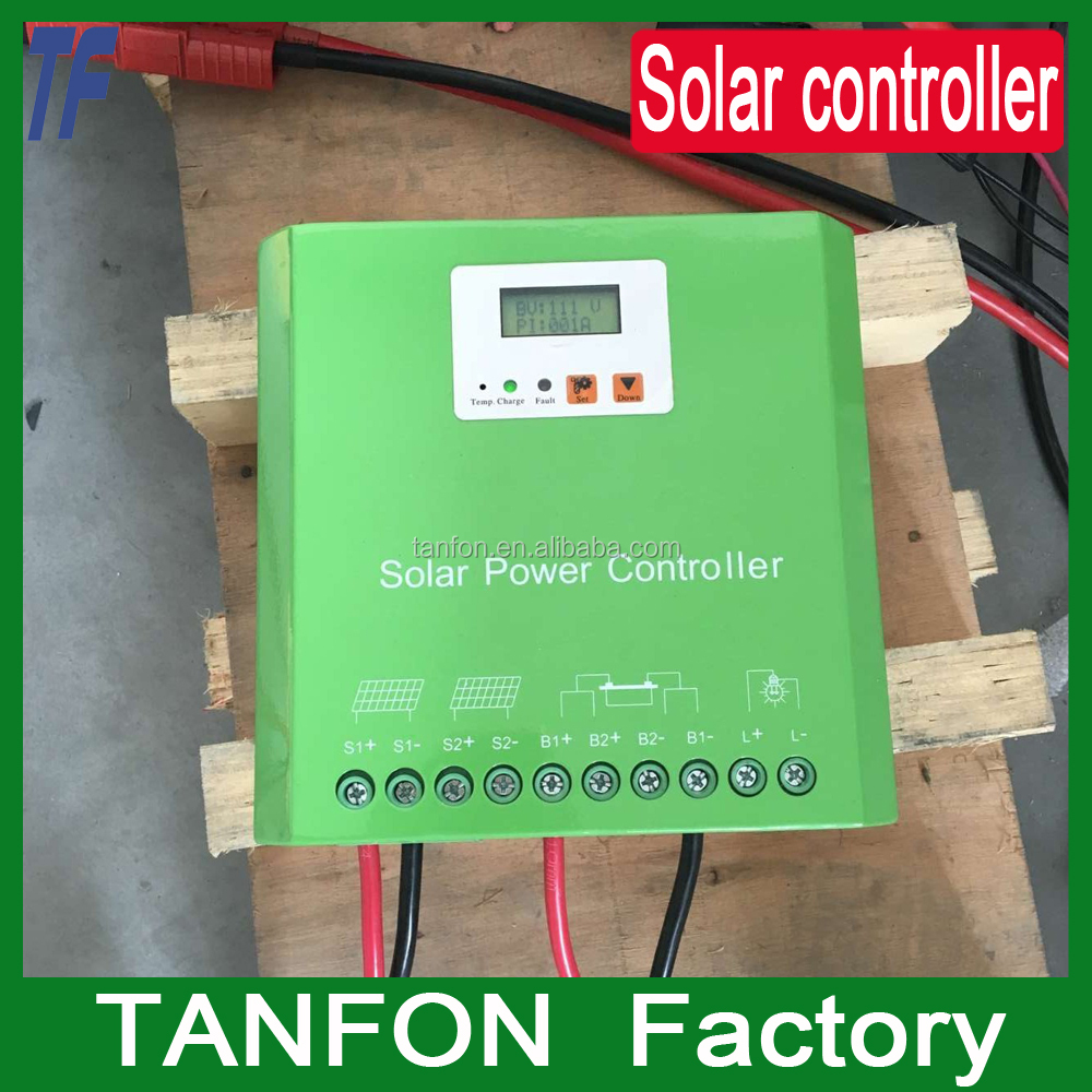 20A 12v 24v pv solar panel controller pwm solar power charge controller