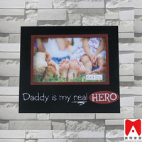 China supplier new products MDF photo frame lucky art home decor