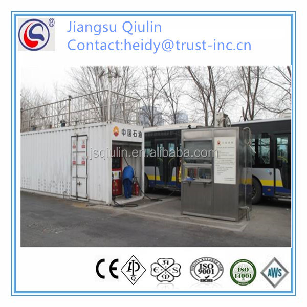 liquified nature gas filling station skid for CNPC