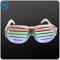 Novelty LED sunglasses with betteries Hot Selling items for Voice control shutter shade sunglasses