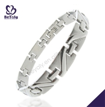 China factory wholesale fashion jewelry 316I stainless steel bracelet for men