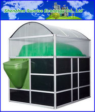 22.4m3 portable hot sale membrane biogas digester for resorts