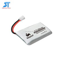 Custom 2017 New Arrival 3.7v 470mah li-polymer battery 582535 factory
