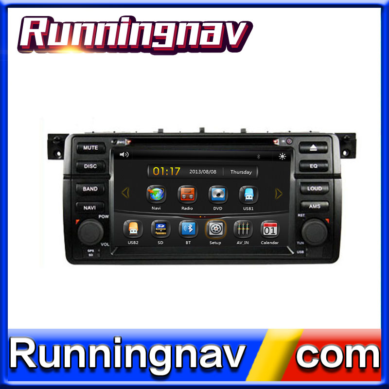 "7"" Android 5.1 For BMW E46 / M3 / Old 3 Series 2 Din Quad Core / Qcta Core HD Car DVD Player GPS Navigation Radio"
