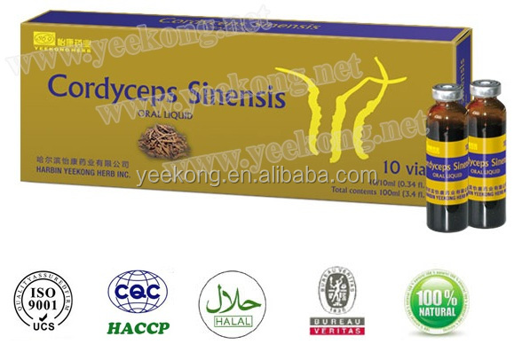 Chinese Herb Drink Cordyceps Sinensis Oral Liquid