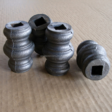 wrought iron decorative studs wrought iron gate forged steel collars fence decorative gate fittings