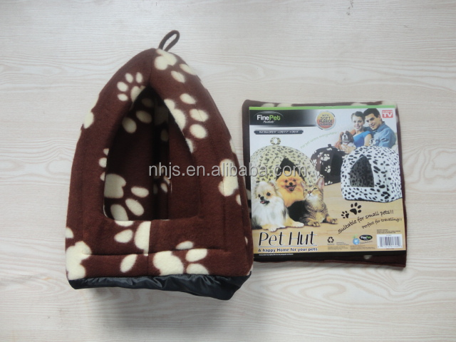 Fleece Pet Hut Cat Bed Dog house as seen on TV