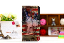 2014 mobile phone leather flip case for moto e pouch wallet design PU leather case