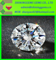 AAA quality best clarity shining star cut white clear cz stone in low price