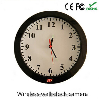720P night vision WiFi hidden camera with thermometer