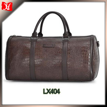 wholesale custom brown man duffle bag buffalo leather big travel tote bags