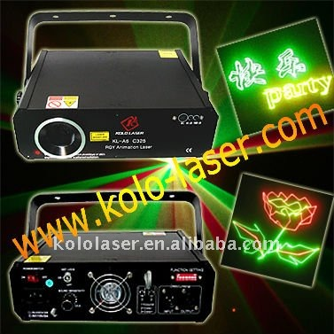 KL-CW325 260mW RGY colorful stage light, laser projector, laser show
