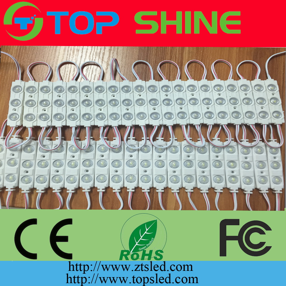LED lighting SMD 5730 single color 3leds plastic <strong>module</strong> waterproof Injection Molding LED <strong>module</strong> for advertising sign letter