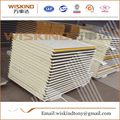 construction material waterproof polyurethane sandwich panel for Cold Room